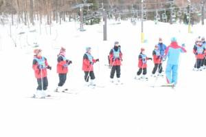 スキー学校1日目