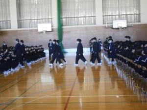 卒業式全体練習