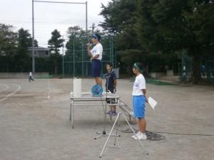 体育祭 全体練習