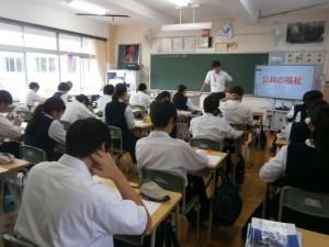 行田市教育委員会・東部教育事務所 学校訪問