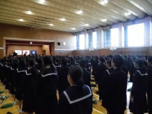 2学期終業式