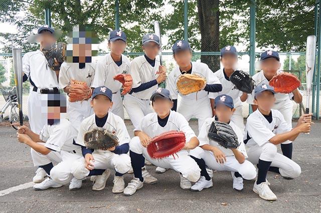 野球部員集合写真